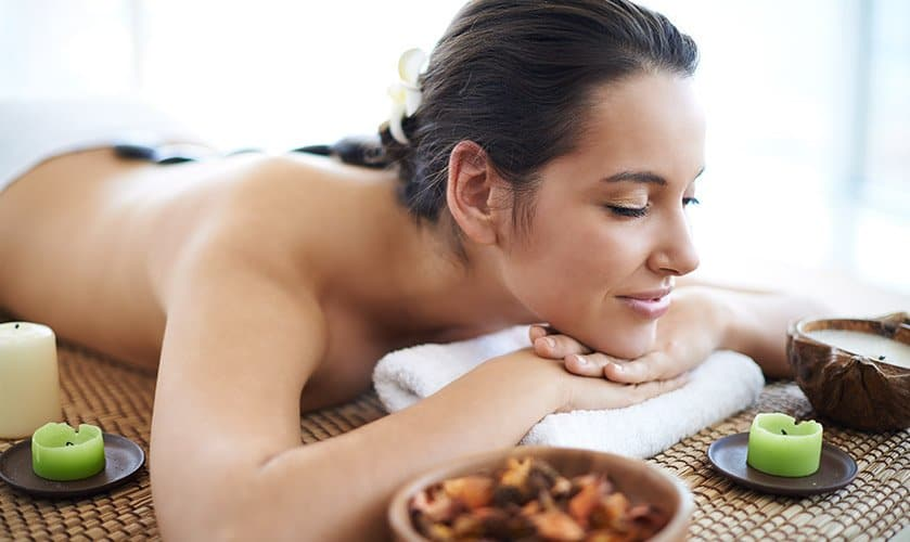 Massage with hot chocolate and new flavours